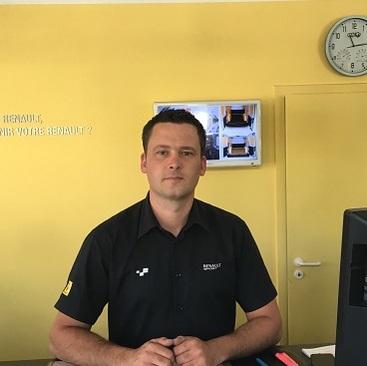 MANIER FREDERIC Chef de Centre Renault Minute