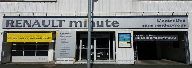 Renault Minute CHOLET- Groupe Jean Rouyer Automobiles