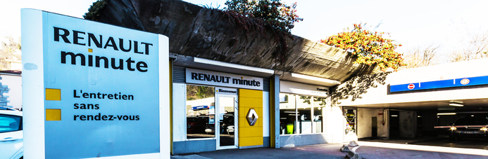 RENAULT MINUTE GRENOBLE PHILIPPEVILLE