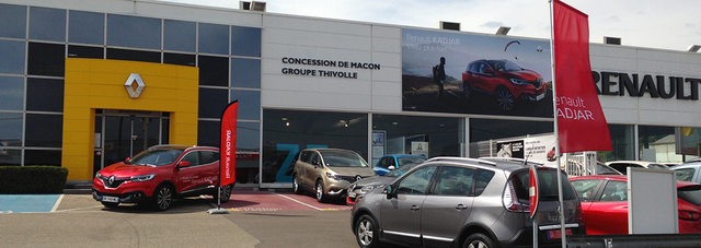 RENAULT MACON SUD - GROUPE THIVOLLE