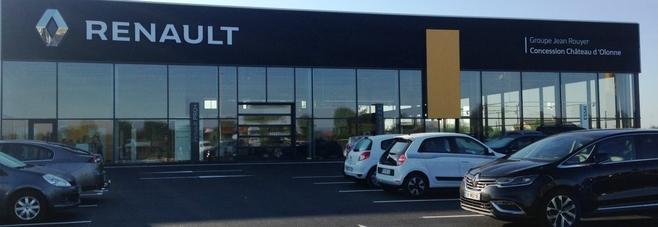 Renault LE CHATEAU D'OLONNE - Groupe Jean Rouyer Automobiles