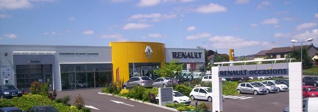 RENAULT SAINT CHAMOND - GROUPE THIVOLLE