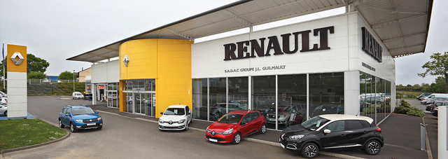 RENAULT CHATEAUBRIANT - Groupe GUILMAULT