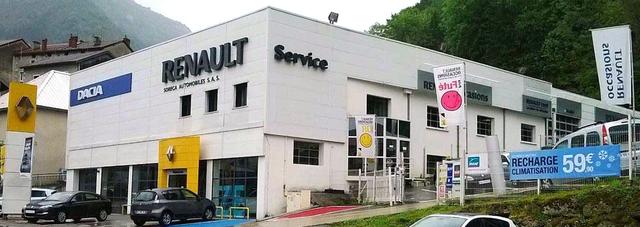 RENAULT SORECA AUTOMOBILES - SAINT-CLAUDE  GROUPE DEFFEUILLE