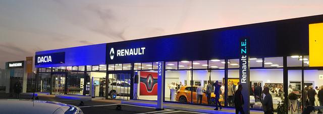 RENAULT SORECA AUTOMOBILES - OYONNAX GROUPE DEFFEUILLE