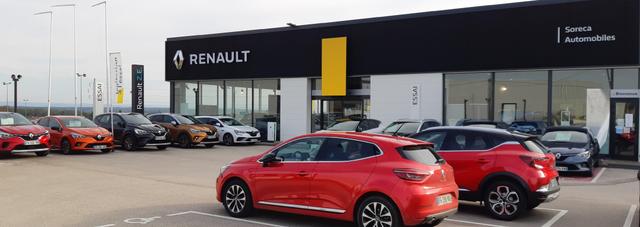 RENAULT SORECA AUTOMOBILES DOLE - GROUPE DEFFEUILLE