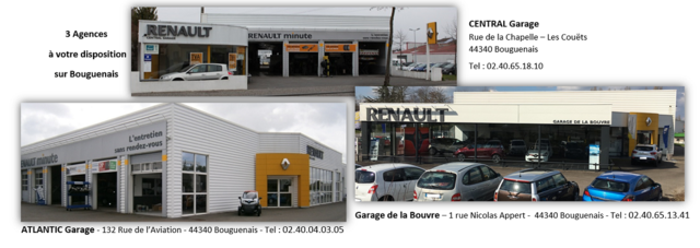 CENTRAL Garage - Renault Bouguenais