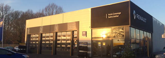 RENAULT AUTO LOSANGE ST ASTIER - GROUPE FAURIE