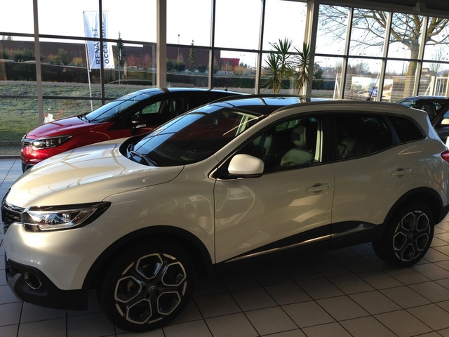 KADJAR Edition One BLANC NACREE
