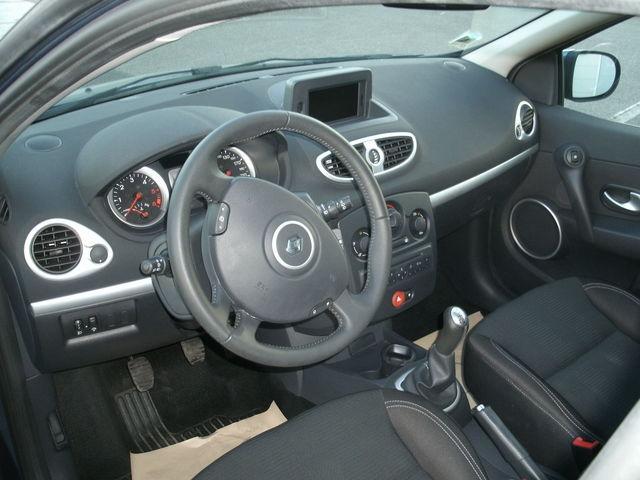 Intérieur CLIO Business Euro 5 GRIS
