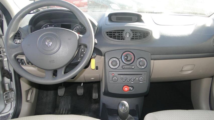 Intérieur CLIO Expression GRISE