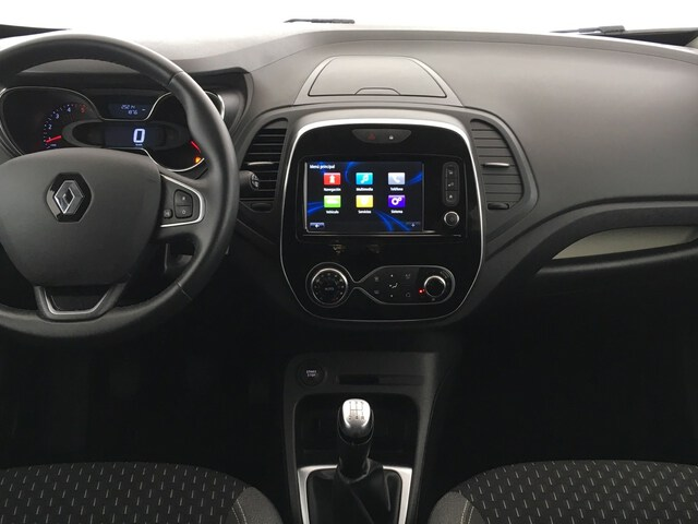 Inside Captur Diesel  Blanco