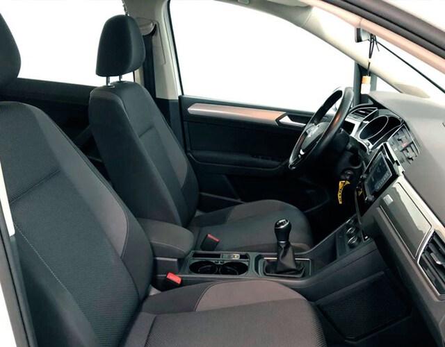 Inside Touran Diesel  blanco