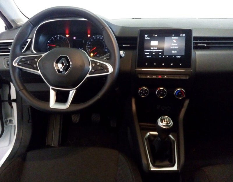 Inside  Nuevo CLIO  Blanco Glaciar