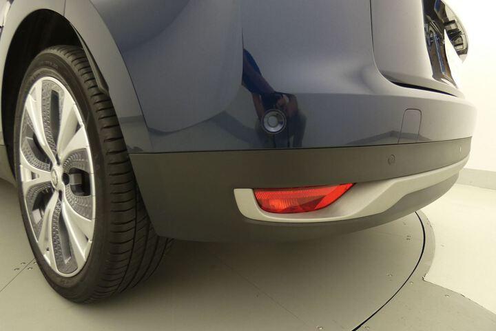 Inside Grand Scénic Diesel  Azul Cosmos