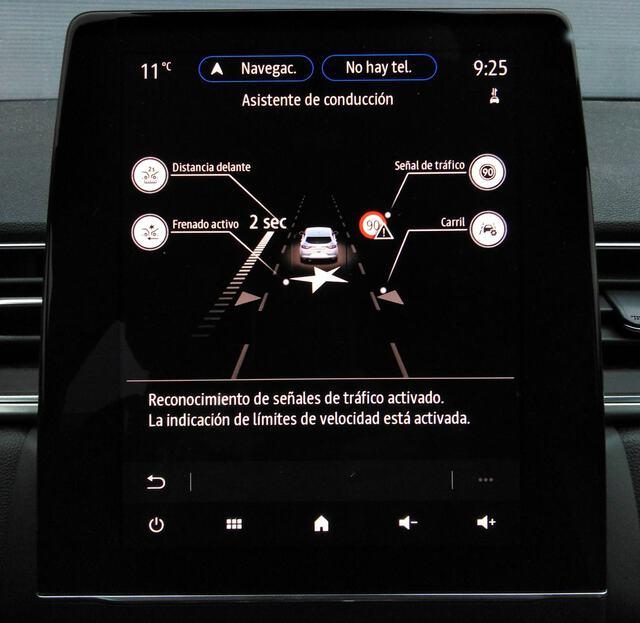 Inside Captur Híbrido Enchufable  Blanco Nacarado con