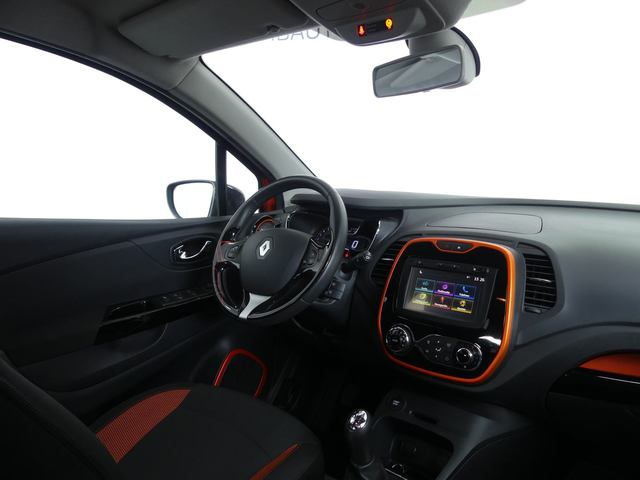 Inside Captur  Naranja Atakama/Tech