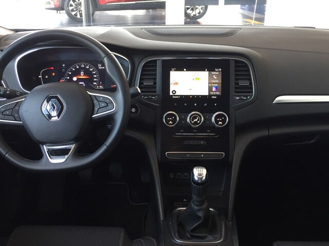 Inside Mégane Diesel  GRIS BALTICO