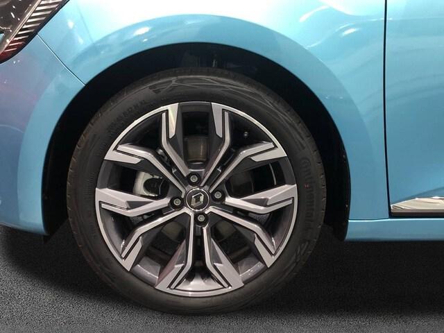 Outside Clio Híbrido  Azul