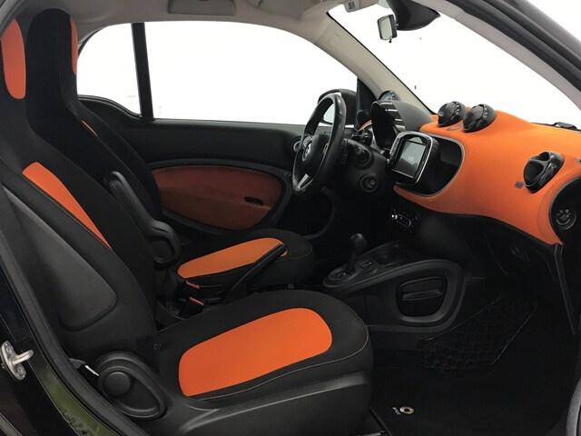 Inside Fortwo Coupé  Naranja lava