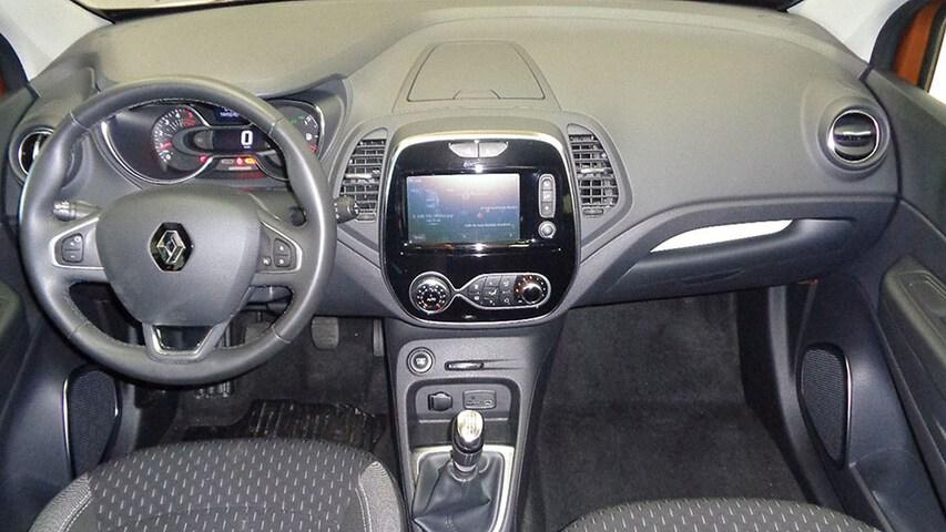Inside Captur  Naranja Atakama/Tech