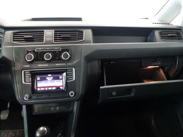 Inside Caddy Combi Diesel  Azul