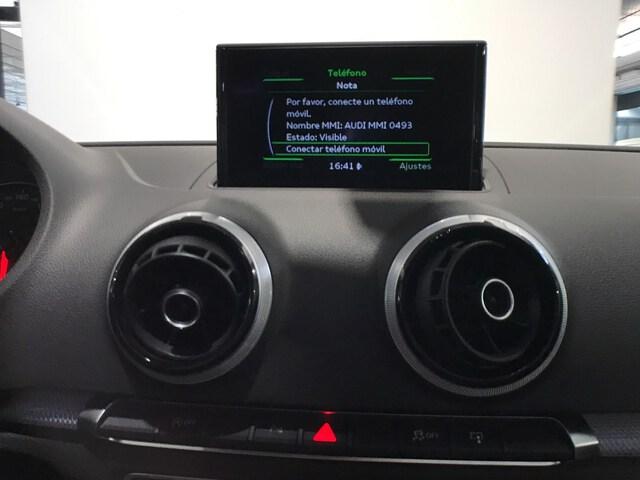 Inside A3 Sportback Diesel  Blanco Ibis