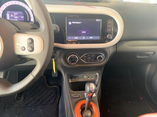 Inside Twingo Electric  NARANJA