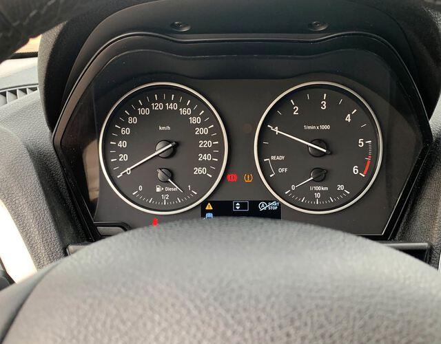Inside Serie 1 E81+E87 Diesel  Le Mans Blau