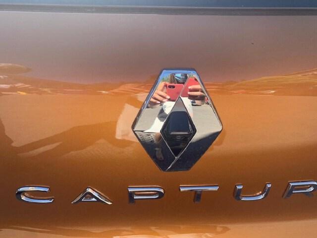 Inside Captur Diesel  Naranja Atakama con