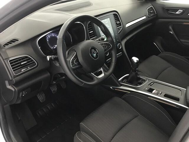 Inside Mégane  Gris platino
