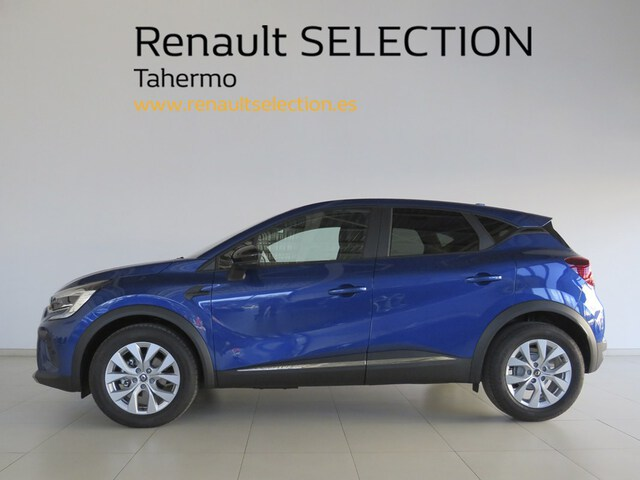 Outside Captur  Azul Rayo