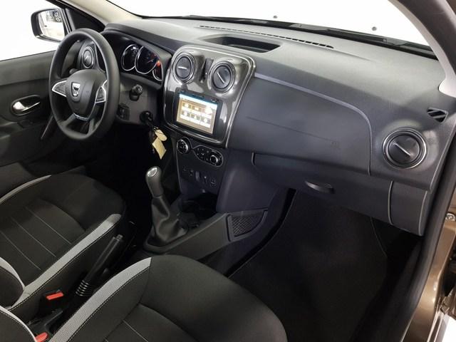 Inside Sandero Diesel  Marrón Tourmaline