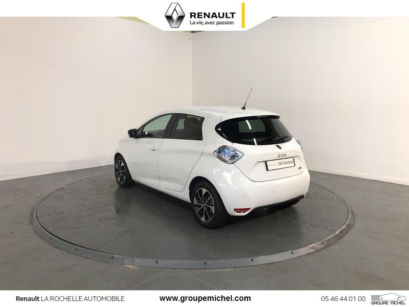 ZOE Intens Charge Rapide Gamme 2017 BLANC GLACIER