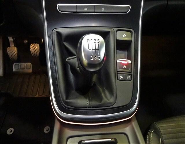 Inside Grand Scénic Diesel  Gris Platino techo n