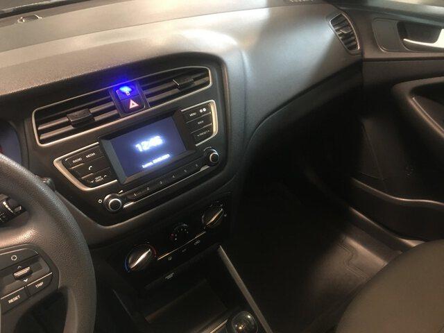 Inside i20  Sleek Silver