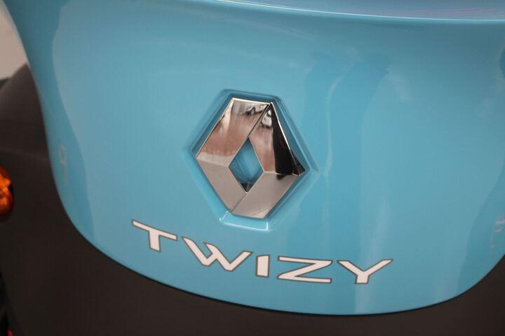 Inside Twizy  Azul