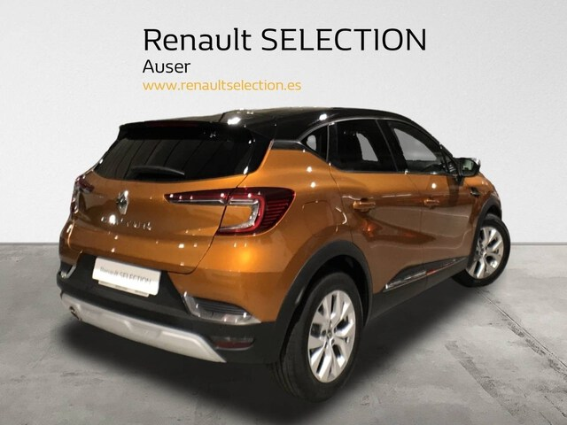 Outside Captur Diesel  Naranja / Negro