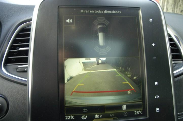 Inside Grand Scénic Diesel  Gris Platino/Techo N