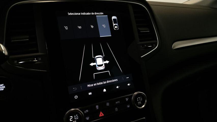 Inside Mégane Diesel  Beige