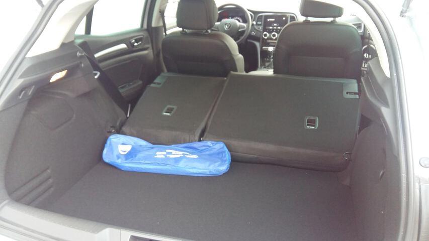 Inside Mégane Diesel  Gris Higland