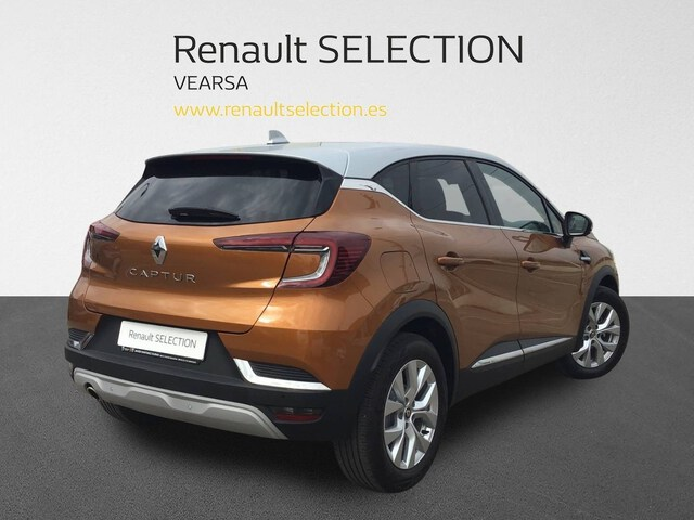 Outside Captur Diesel  Naranja Atakama con