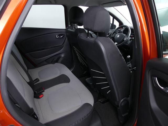 Inside Captur Diesel  Naranja Atakama/ Tec
