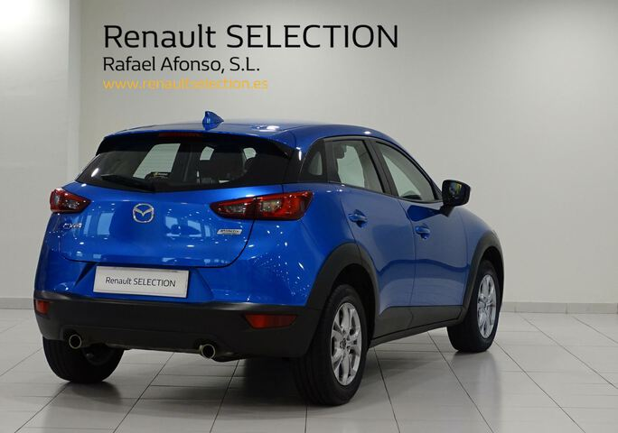 Outside CX-3  AZUL