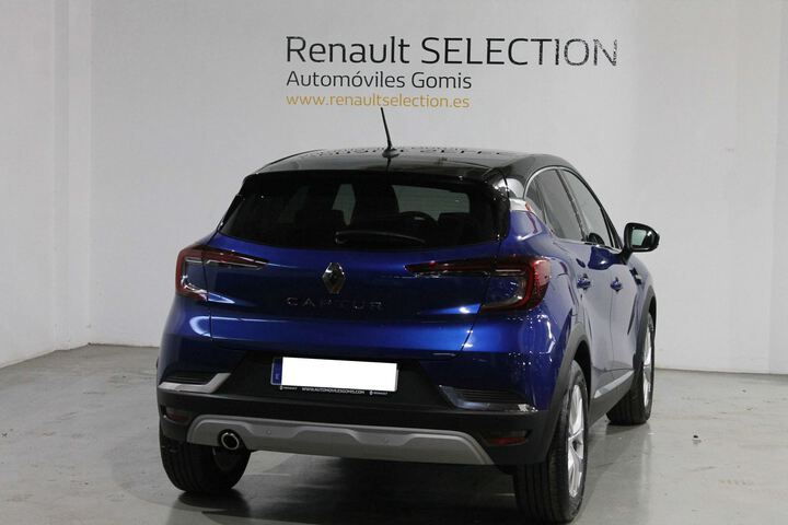 Outside Captur Diesel  AZUL