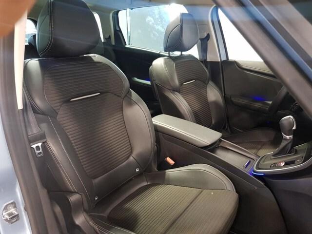 Inside Grand Scénic Diesel  Azul Celeste