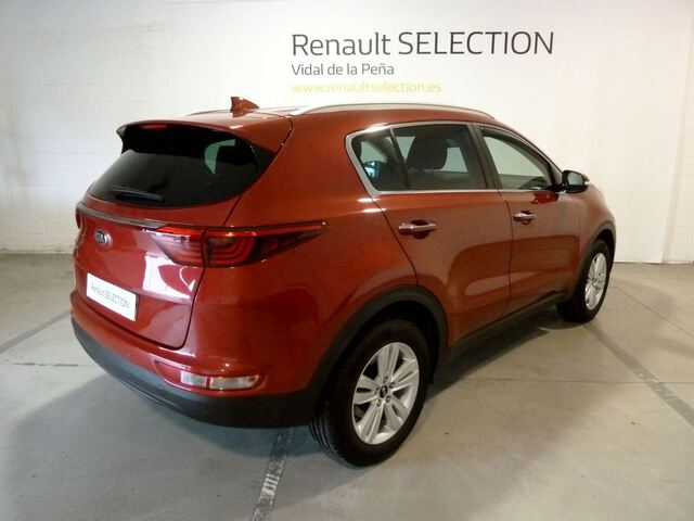 Outside Sportage  Infra Red