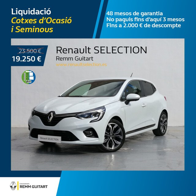 Clio Híbrido  Blanco Quartz