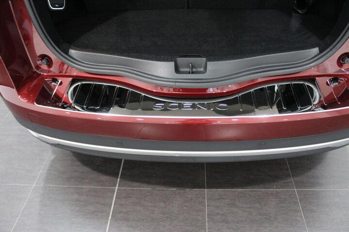 Inside Grand Scénic Diesel  Rojo Carmín/Techo n