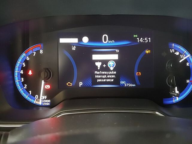 Inside Corolla Híbrido  VERDE